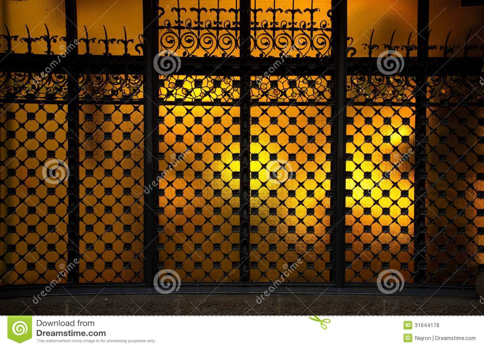 Decorative Window Royalty Free Stock Photos