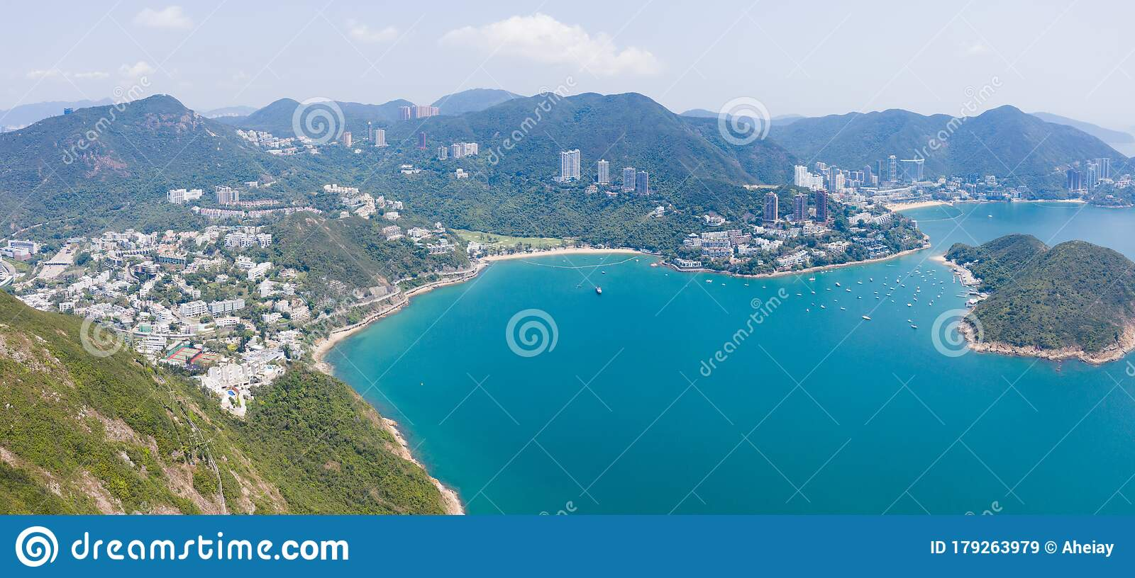 Deep Water Bay. Rich And Luxury Residentialare In South Of Hong Kong Island Stock Image - Image of deep. beach: 179263979