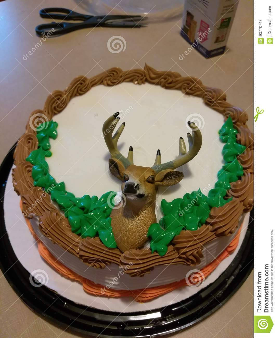 deer cake stock image