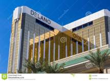 Delano Las Vegas Hotel And Casino Editorial
