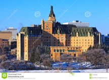Delta Bessborough Hotel Saskatoon Royalty Free Stock