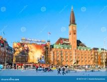 Denmark. Copenhagen. Scandic Palace Hotel Editorial