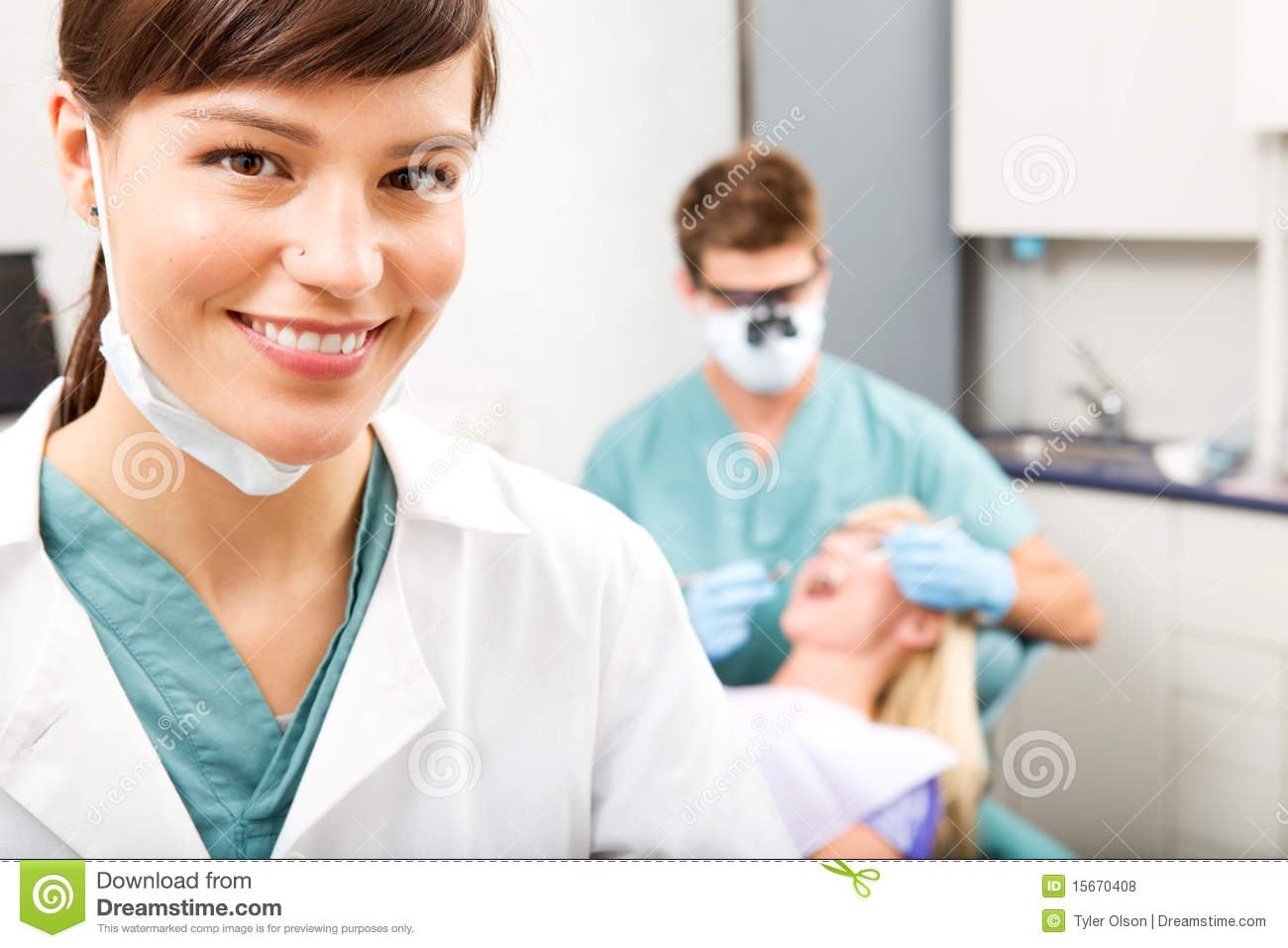 Dental Assistant stock photo Image of dentist dentistry  15670408
