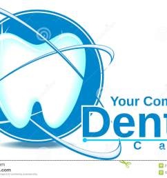 dental care logo vector illustration [ 1300 x 894 Pixel ]