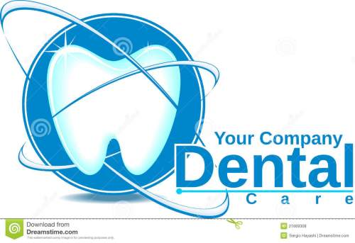 small resolution of dental care logo vector illustration