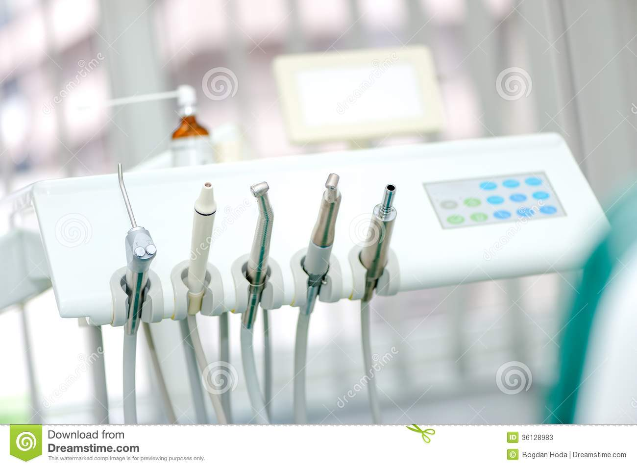 Crown Hd Wallpaper Dental Tools On A Dentist S Chair Stock Image Image