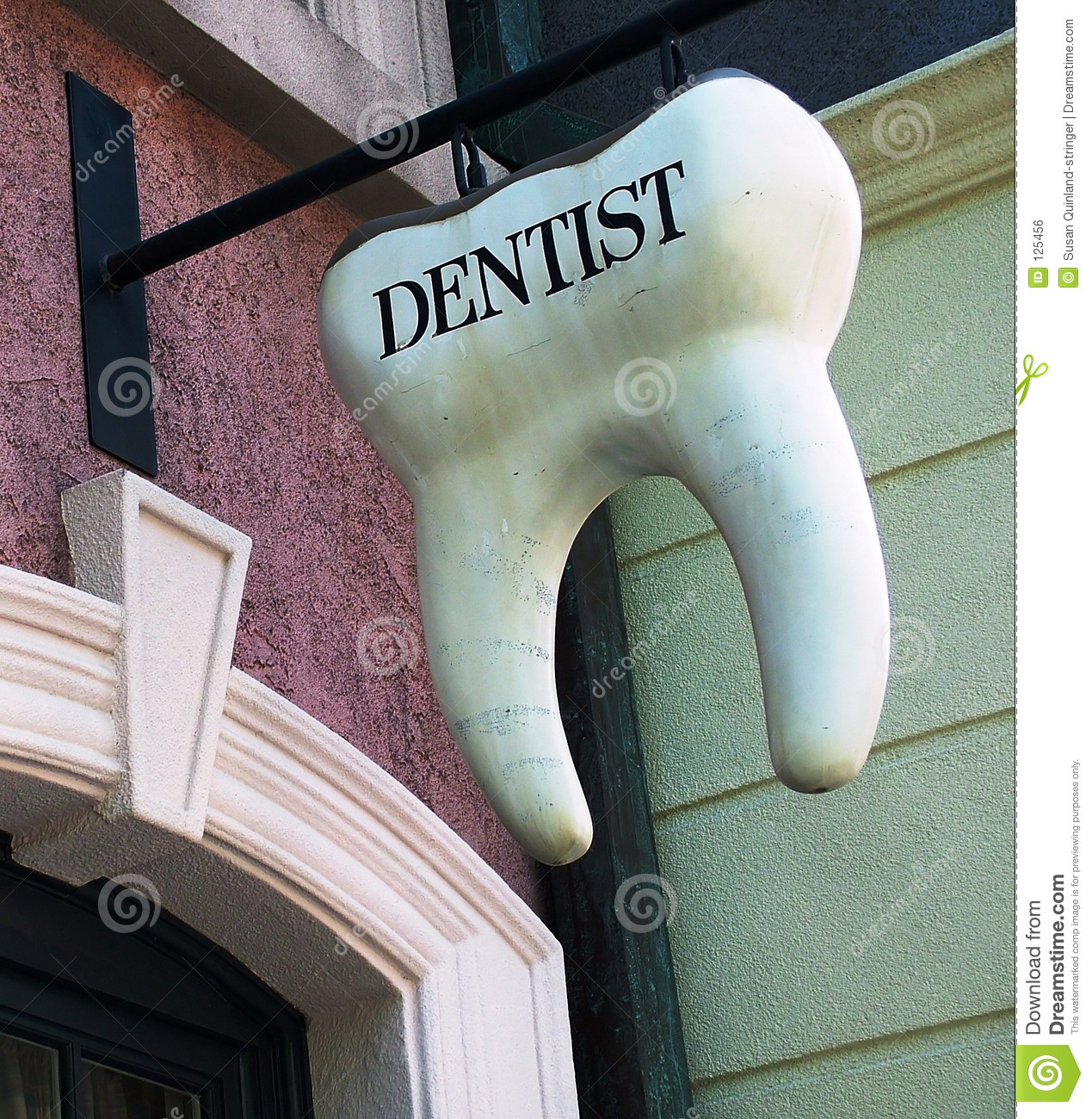 Dentist Tooth Sign Stock Photo Image Of Whimsical