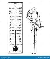 Desenhos Animados Do Homem Refrigerado Que Olha O ...