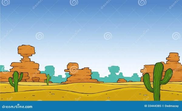 desert stock vector. illustration