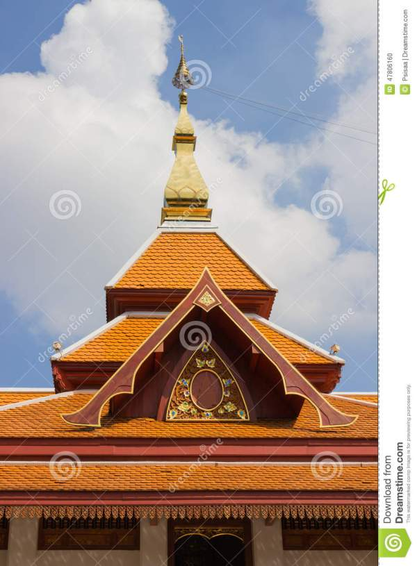 Asian Roof Design