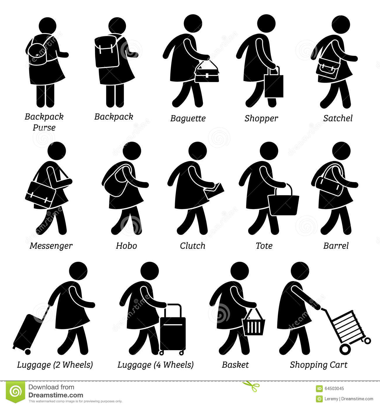 Design Clipart For Bagage For Pl Nbok For