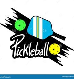 pickleball racket stock illustrations 216 pickleball racket stock illustrations vectors clipart dreamstime [ 1300 x 1267 Pixel ]