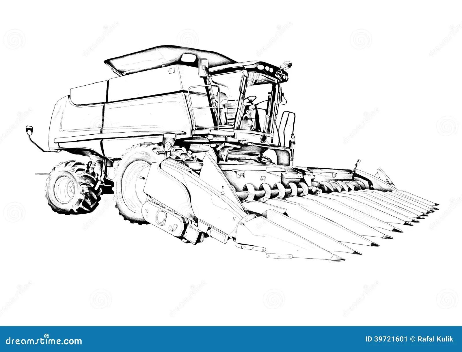 Dessin D Art D Illustration De Recolte Illustration Stock