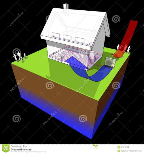 small resolution of detached house with air source heat pump