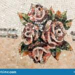 Detail Of A Beautiful Marble Mosaic Panel Interior Marble Mosaic A Piece Of Marble Venetian Mosaic As A Decorative Background Stock Photo Image Of Element Closeup 143608782