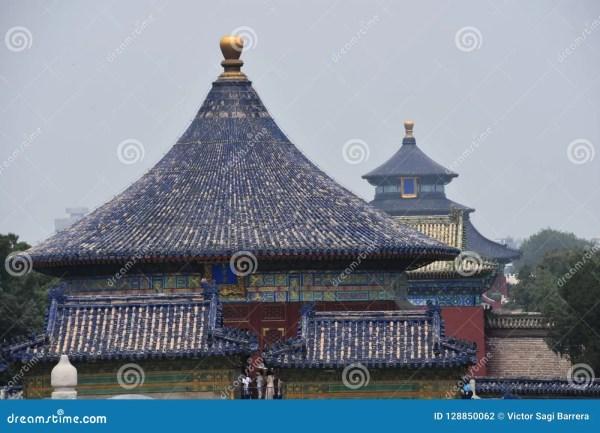 Temple Of Heaven Beijing China Stock
