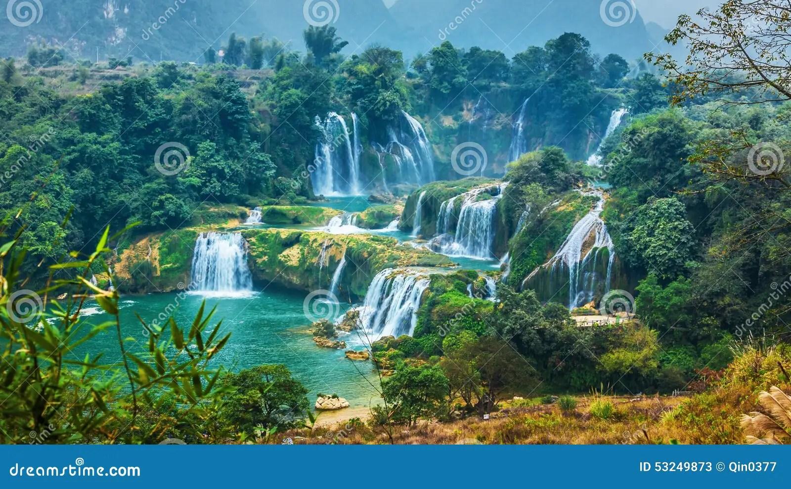 Niagara Falls Wallpaper Free Download Detian Waterfall In China Changbai Mountain Waterfalls In