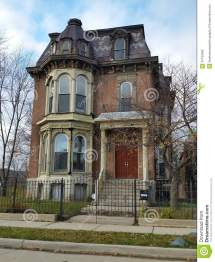 Old Brick Victorian House