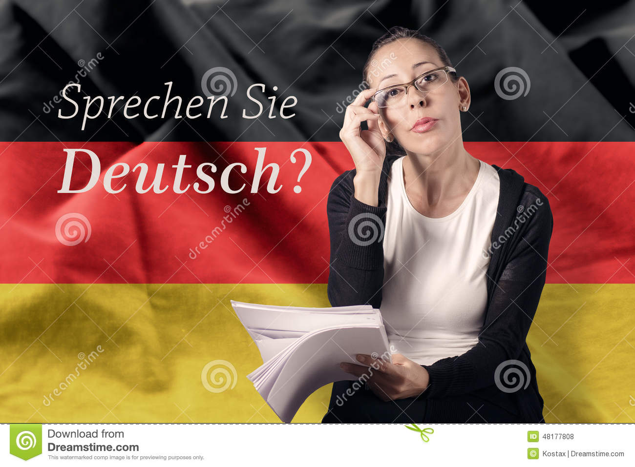 Deutsch Stock Photo Image Of Front Backstory Glasses