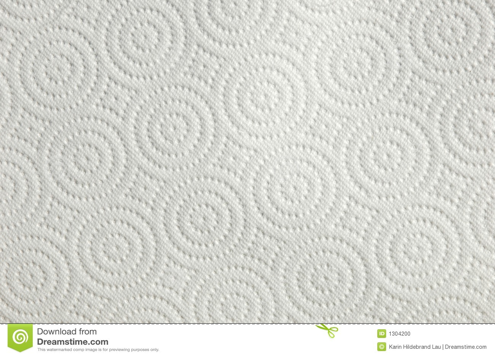 Diagonal Towel Stock Photo