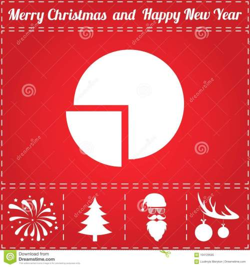 small resolution of diagram icon vector and bonus symbol for new year santa claus christmas tree firework balls on deer antlers