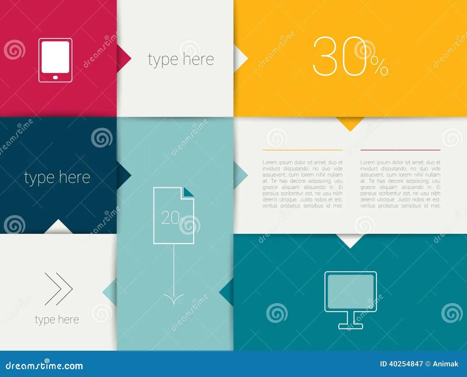 hight resolution of diagramma di scatola progettazione minimalistic piana