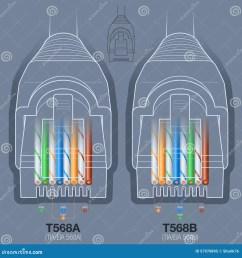 diagramme de c blage de cable connecteur de r seau [ 1300 x 1390 Pixel ]