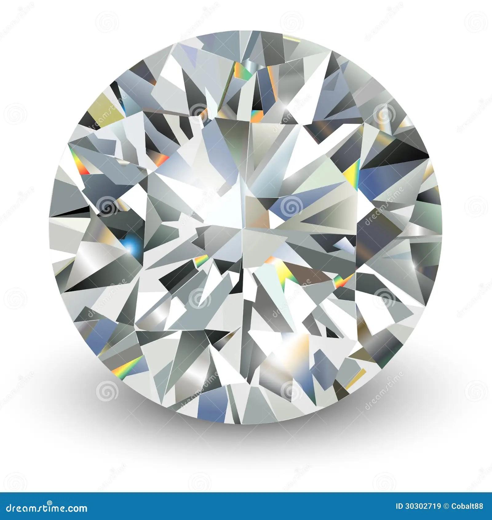 diamond stock vector illustration