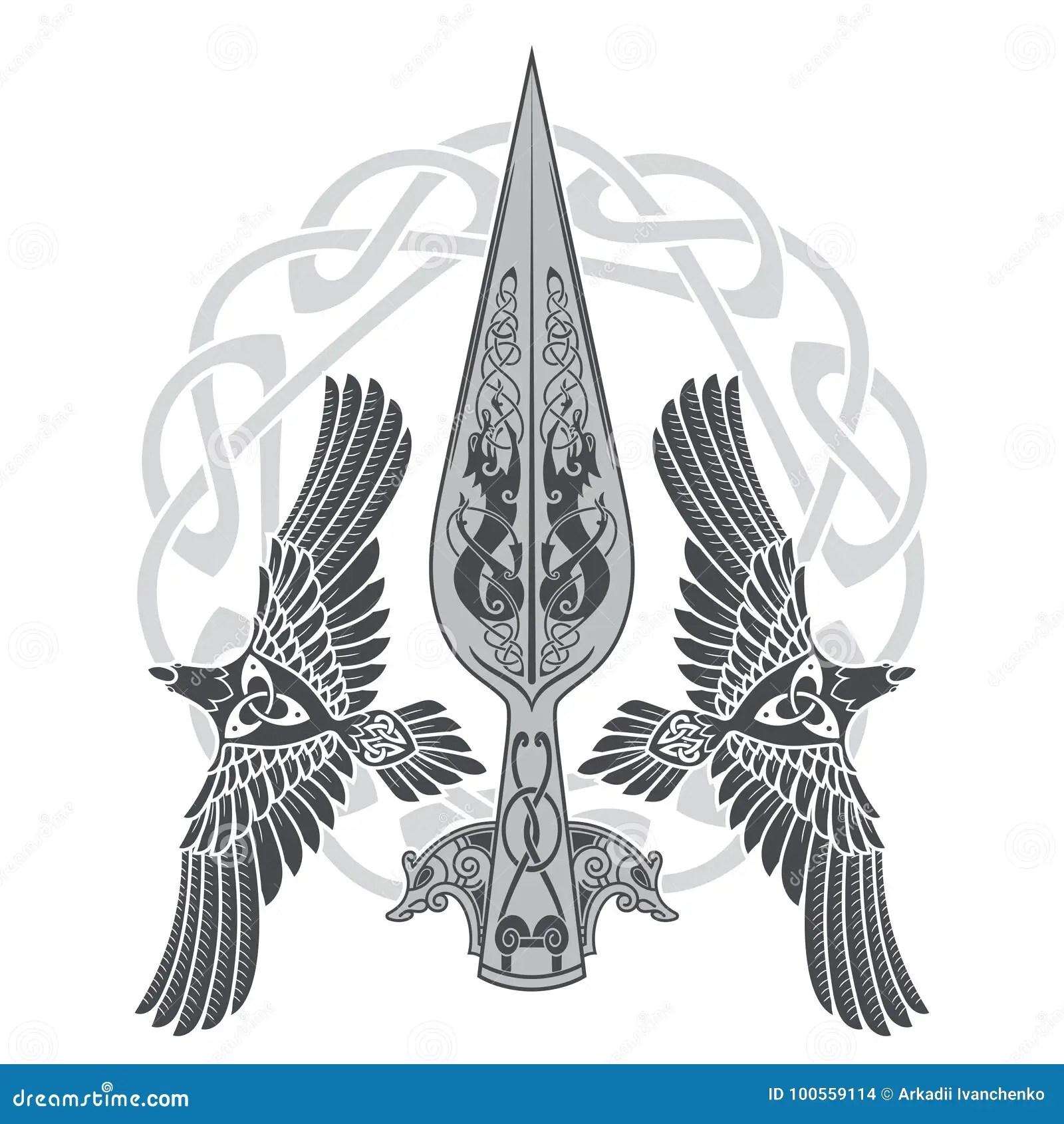 Odin Stock Illustrationen, Vektors, & Klipart