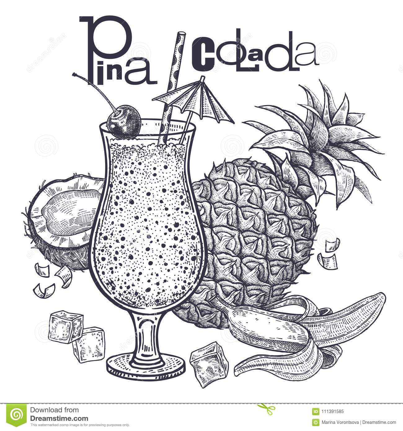 T Food Smoothies Stock Vector Illustration Of Fruit