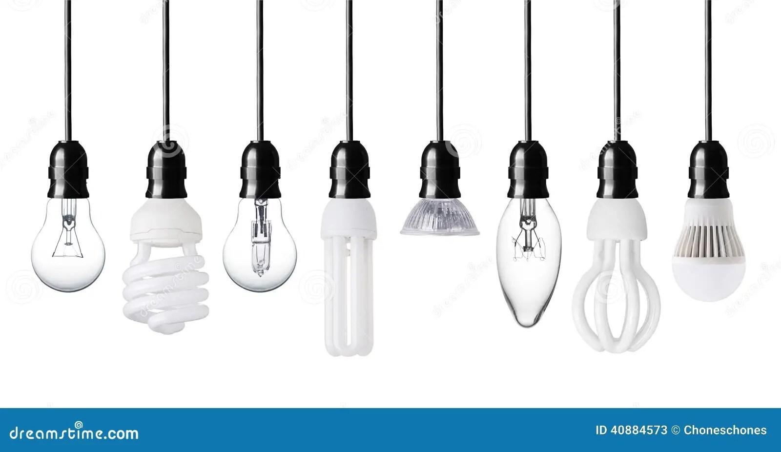 Different Light Bulbs Stock Image Image Of Bulbs