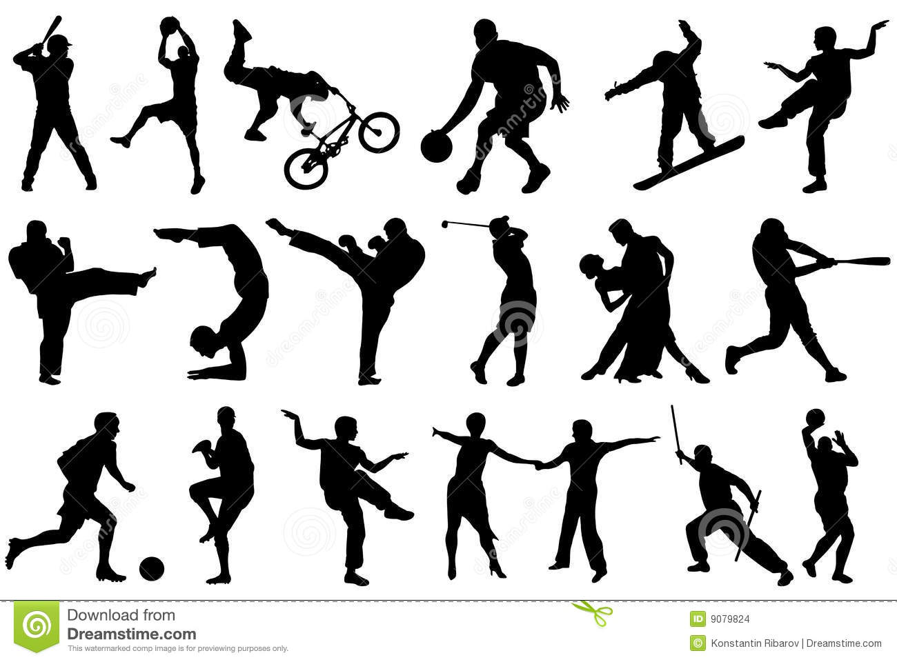 Different Sports Stock Images