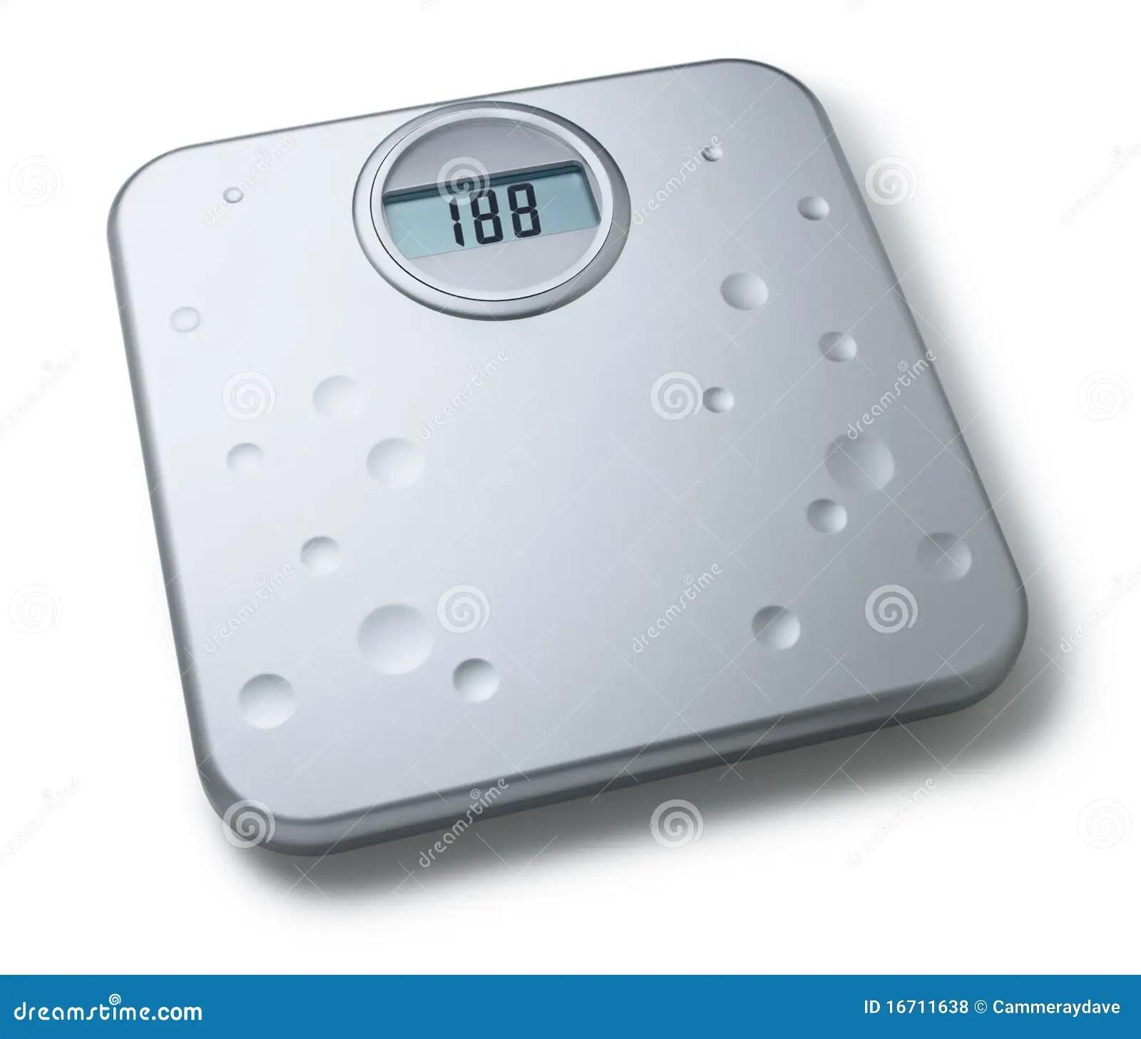 Digital Bathroom Scales Royalty Free Stock Photos  Image 16711638