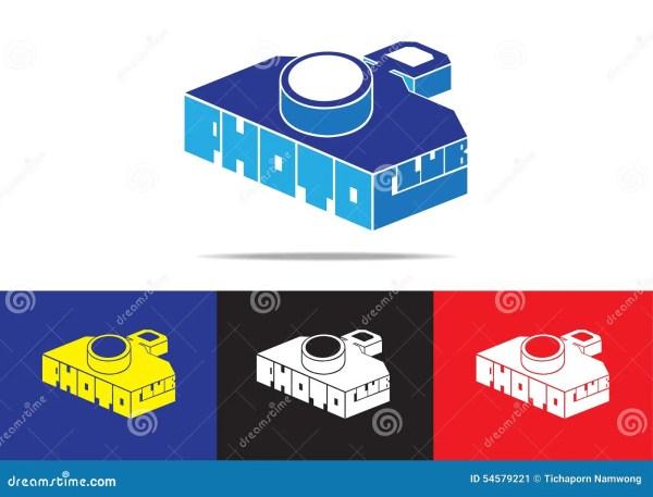 Digital Camera Logo Design Stock Vector. Illustration Of Device - 54579221