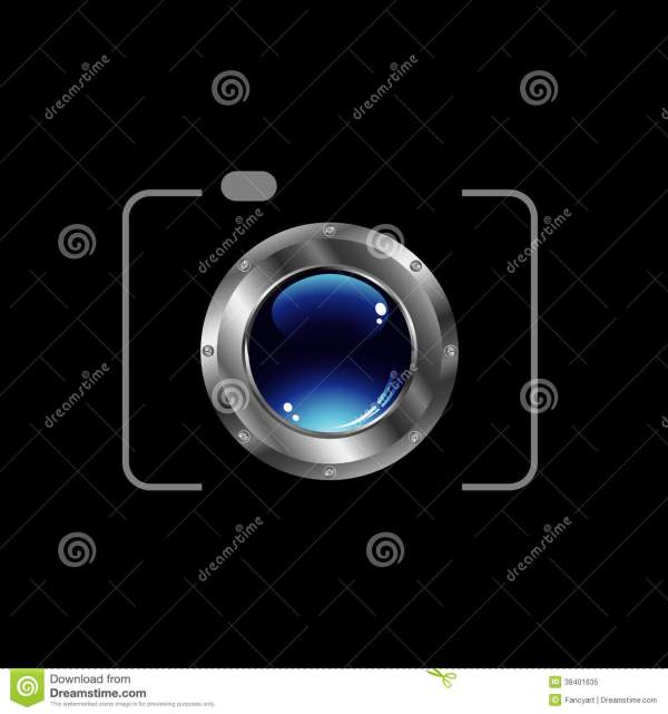 Digital Camera- Logo Royalty Free Stock
