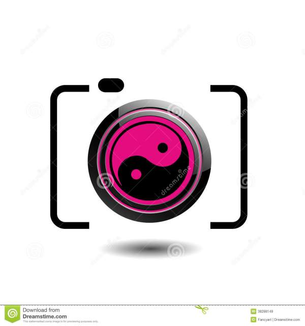 Digital Camera- Logo Stock Vector