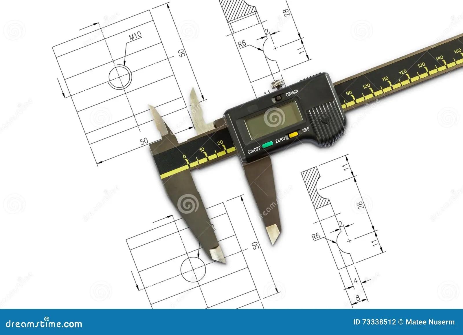 hight resolution of digital vernier calipers