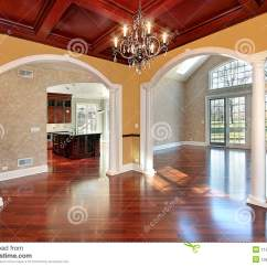 Center Table Design For Living Room Best Brown Paint Dining With White Columns Royalty Free Stock Photos ...