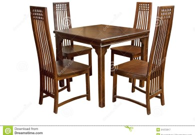 Dining Table And Chairs Stock Photos Images Royalty Free