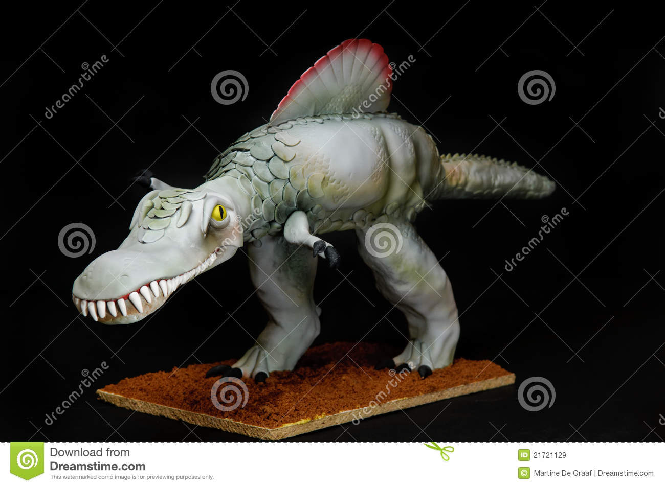 Dinosaur Cake Royalty Free Stock Images Image 21721129