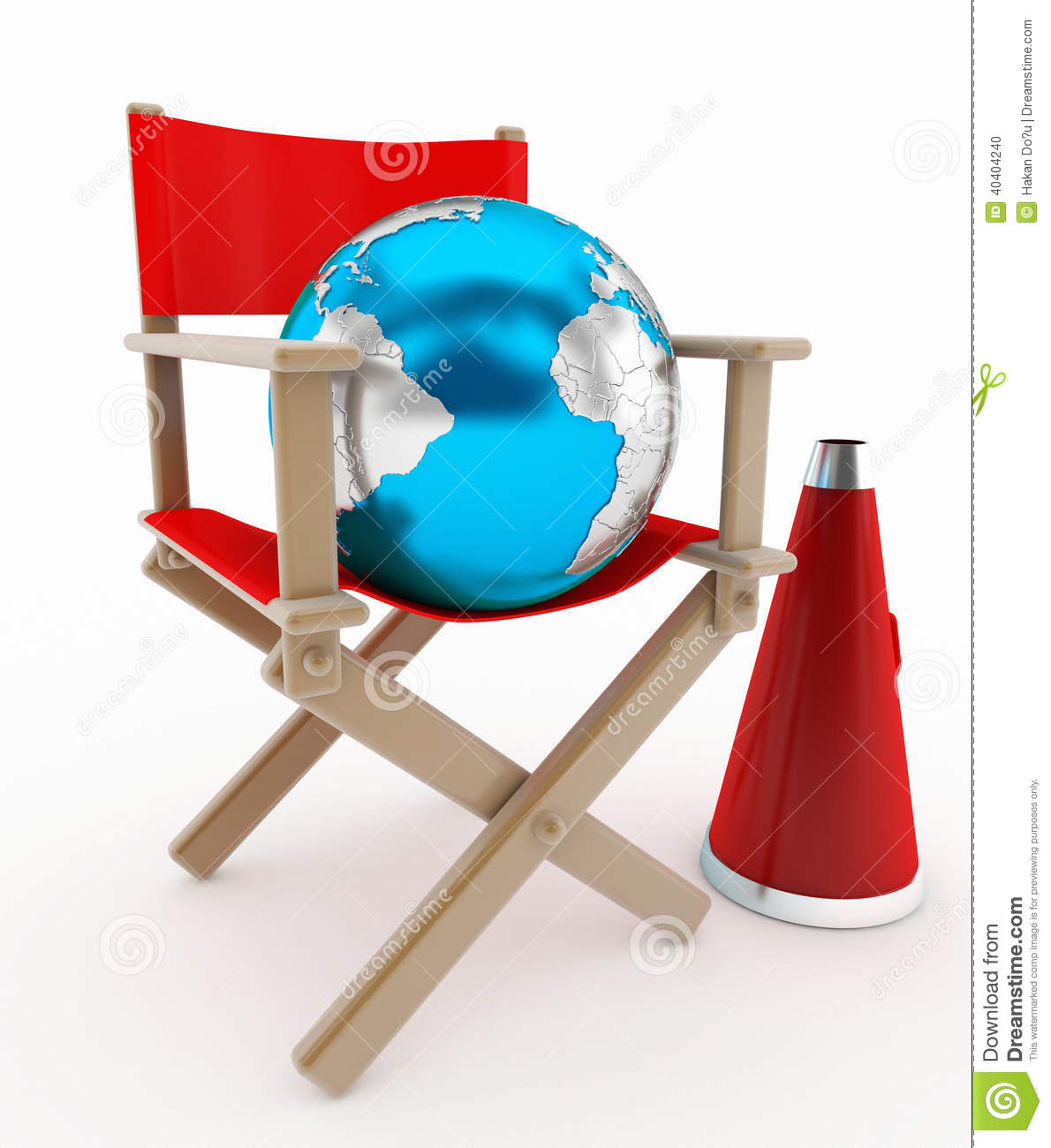 high quality directors chairs container store chair director and world concept stock photo image 40404240