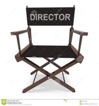 Director's Chair Shows Movie Producer Or Filmmaker Royalty ...