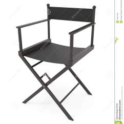 Directors Chair White Tables And Chairs For Office Isolated On Stock Images Image
