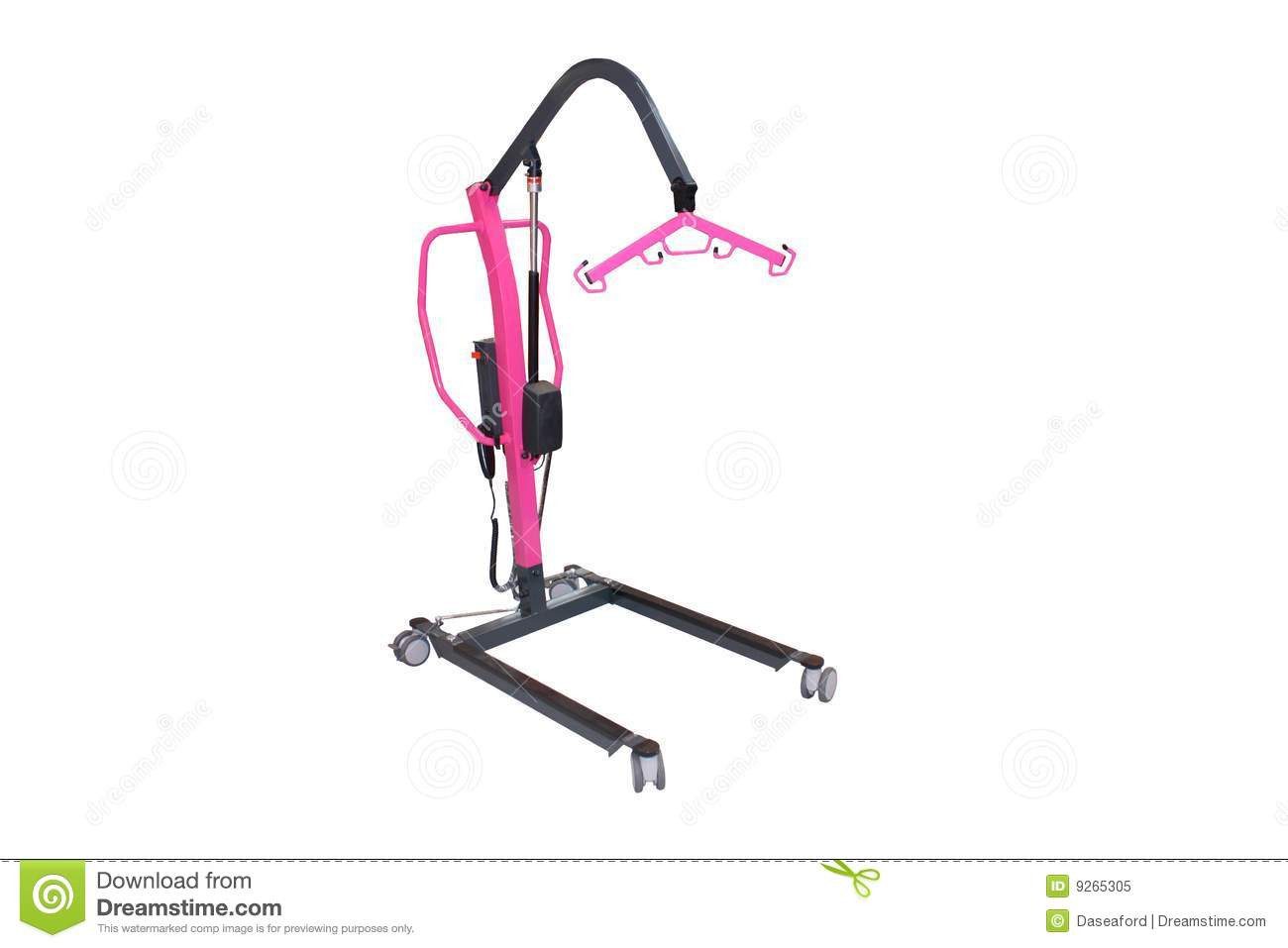 Disabled Hoist Royalty Free Stock Photo