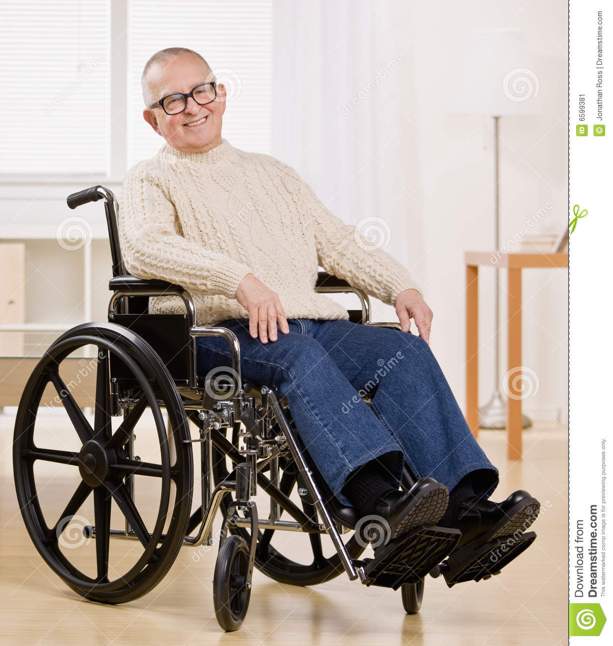 wheelchair man dining chair covers jysk disabled in stock image of body 6599381