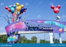 Disneyland Resort Editorial Of Amusement