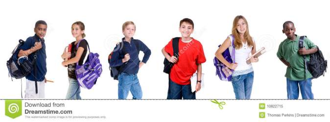 students diverse royalty middle dreamstime
