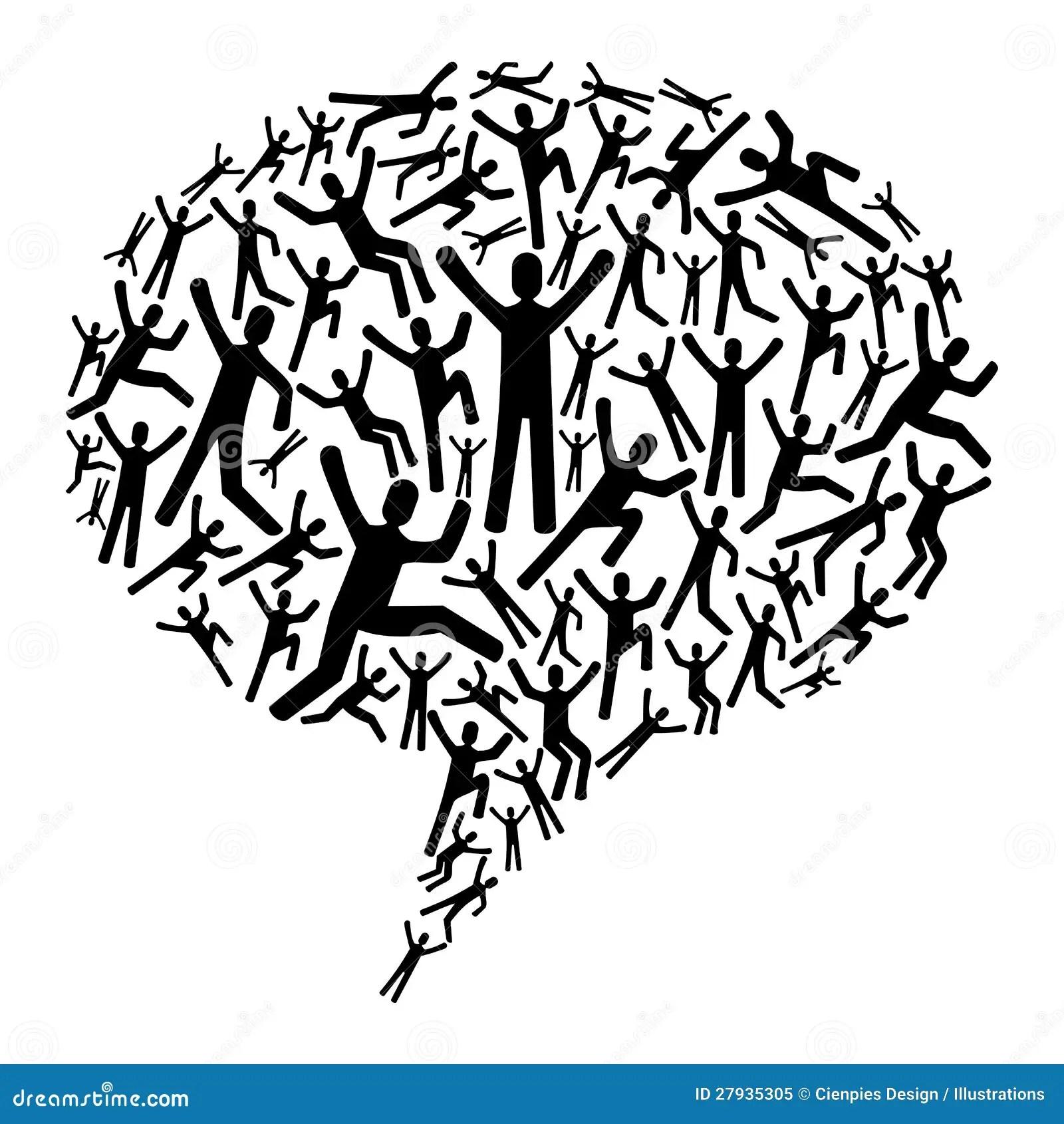 Diversity social people stock vector. Illustration of