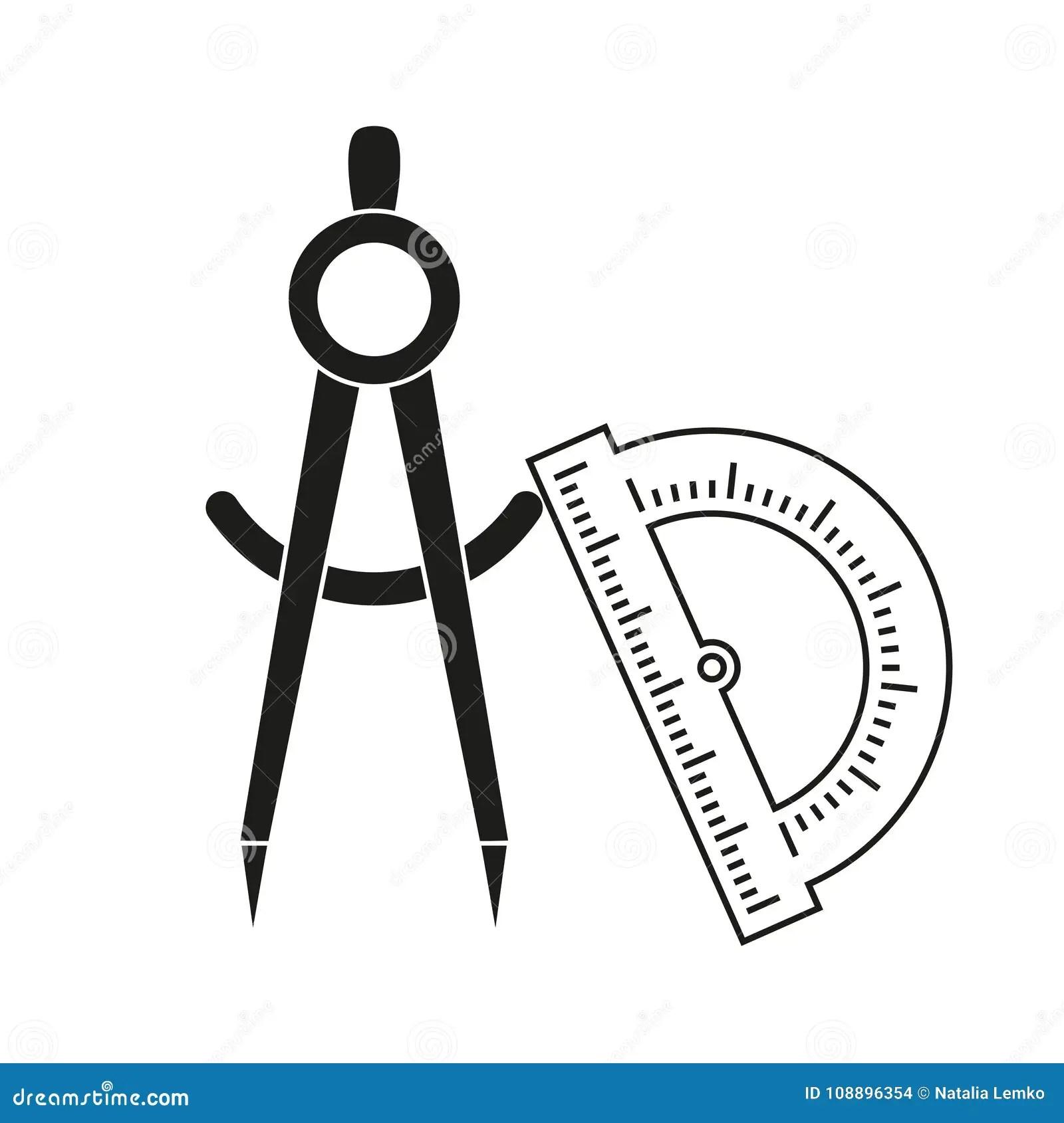 Divider Icon Flat Style Cartoon Vector