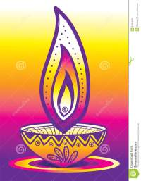 Diwali Candle Light Stock Photography - Image: 34034412